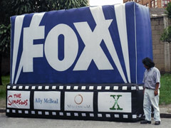 PAINEL INFLÁVEL FOX
